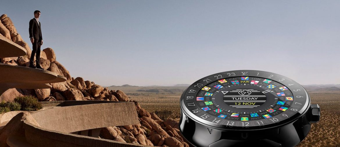 Discover The Tambour Horizon Smart Watch by Louis Vuttion
